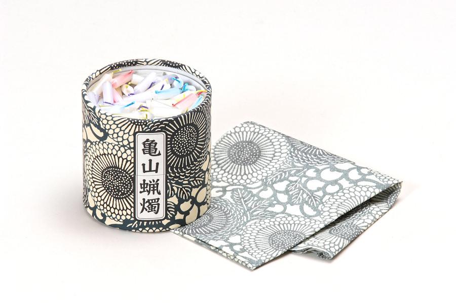 ローソク 亀山五色蝋燭