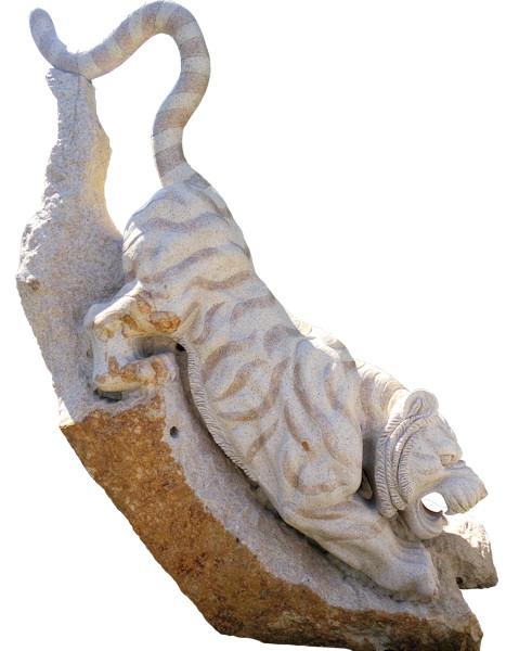 石製品 下山虎