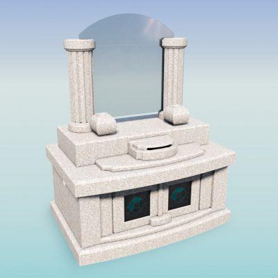 デザイン墓 ホーリー 桃珊瑚