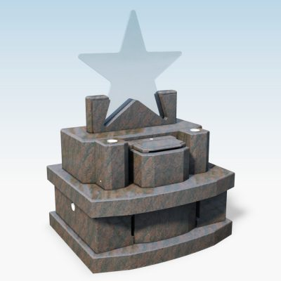 デザイン墓 スター オーロラ