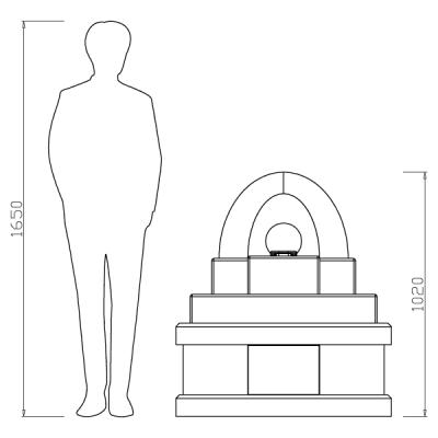 デザイン墓アーチ