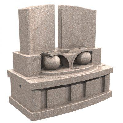 デザイン墓 シオン 桃珊瑚