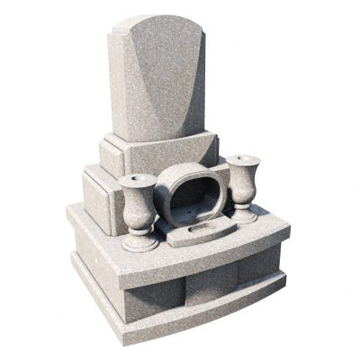 デザイン墓 シラー 桃珊瑚
