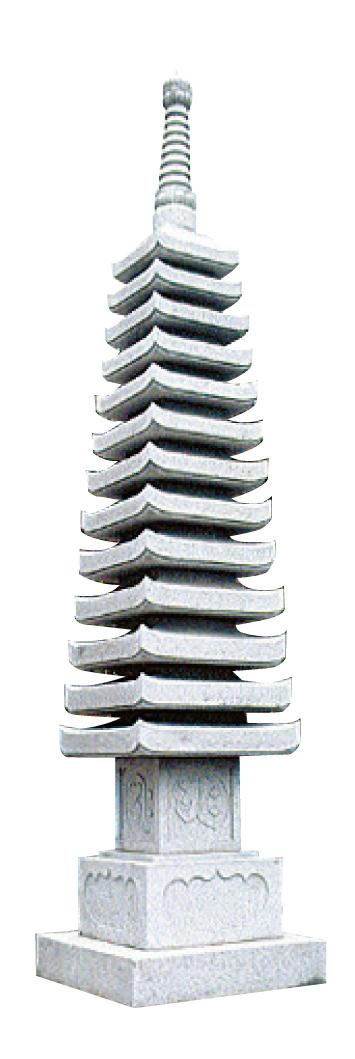 多重塔 十三重の塔