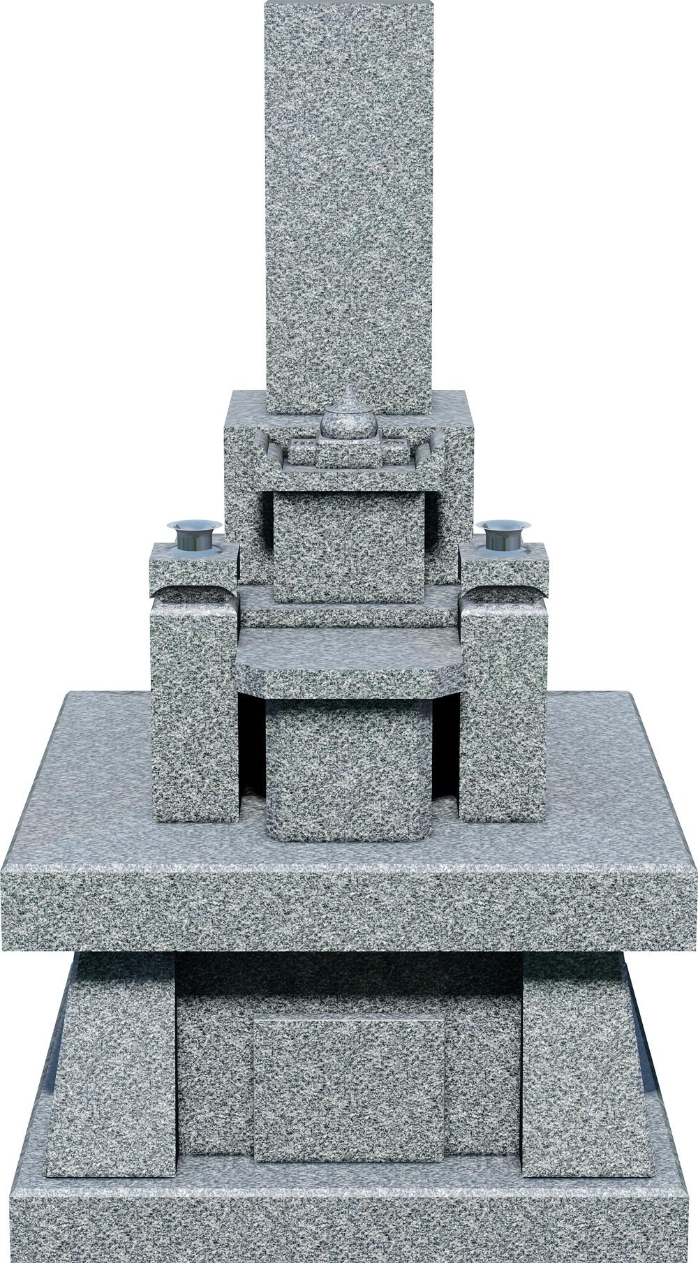 神道墓 三宝台 閃緑石