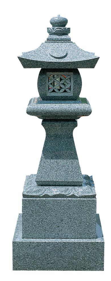 墓前灯篭 寂蓮