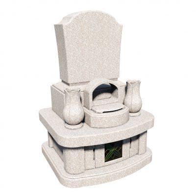 デザイン墓 リゲル 桃珊瑚