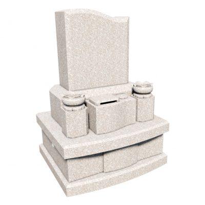 デザイン墓 レグルス 桃珊瑚