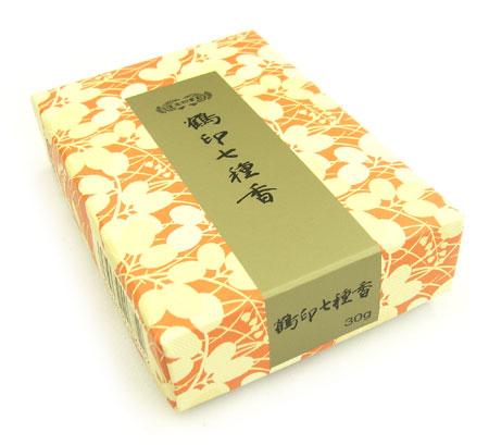 焼香 鶴印七種香