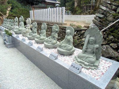 善長寺様 十三仏石像
