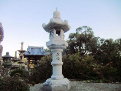 常楽寺様燈籠