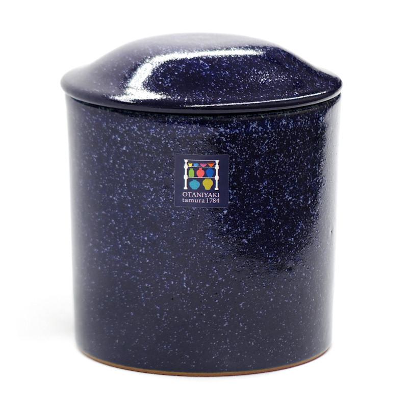 大谷焼-藍染骨壺