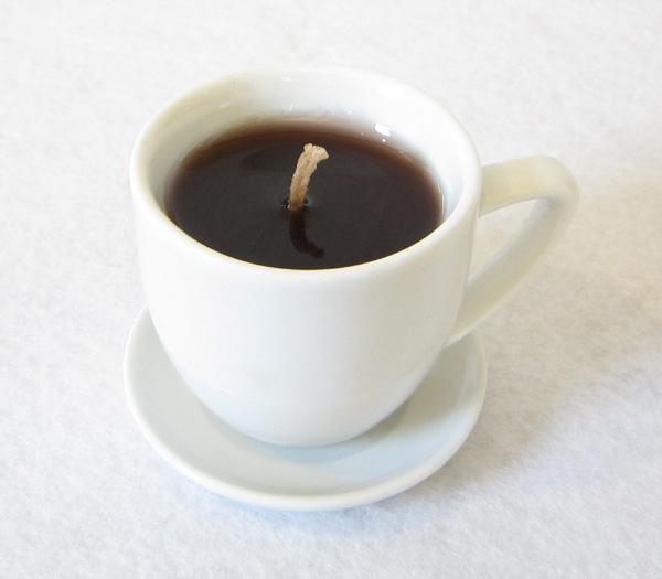 ローソク ホットコーヒー