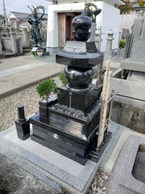 インド黒特級 鎌倉型五輪塔