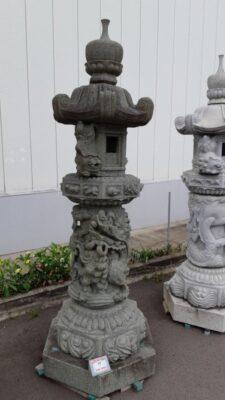 庭灯籠 奥の院7尺 青石
